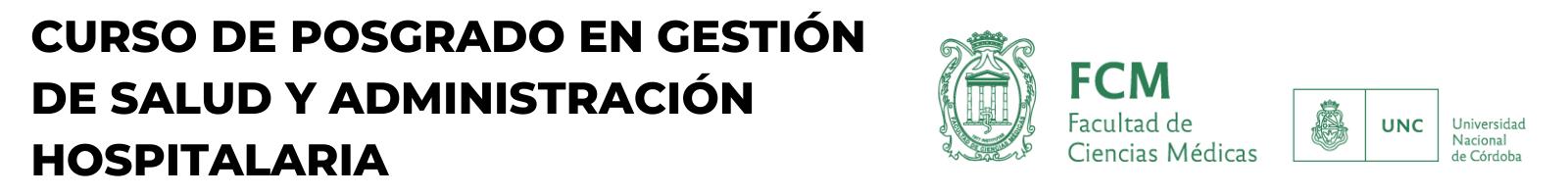 Cursos en Gestión de la Salud y Administración Hospitalaria Logo